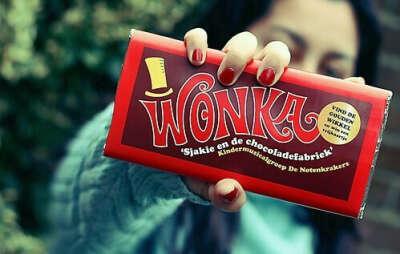 шоколадку Wonka