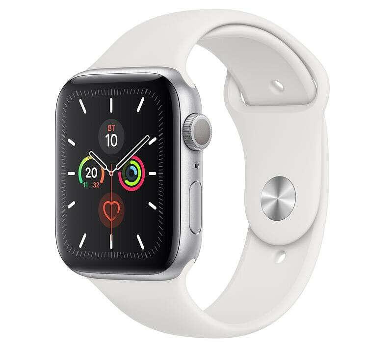 Смарт-часы Apple Watch S5 40mm Silver Sport Band (MWV62RU/A) – интернет-магазин Эльдорадо