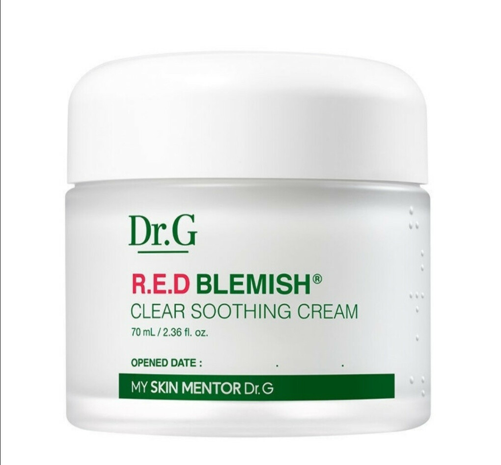 Dr.g R.E.D blemish clear soothing cream