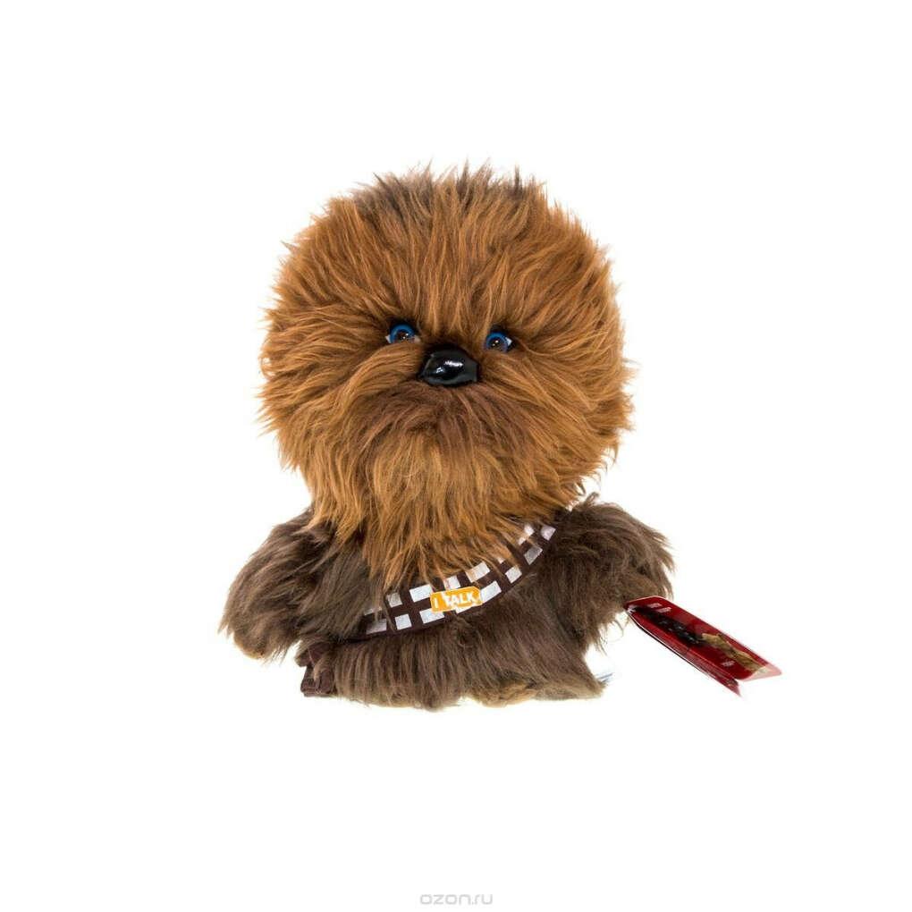 Star Wars Мягкая озвученная игрушка Чубакка 20 см