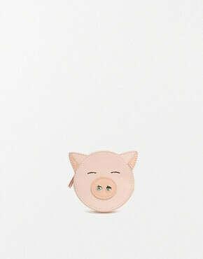 Кошелек для монет с поросенком ASOS