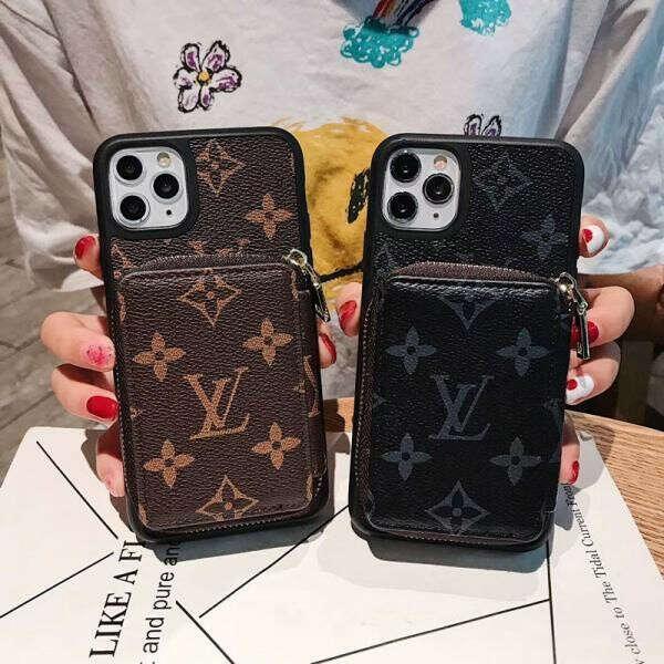 ルイヴィトン iphone11/11proケース カードポケット付き ブラント iphone11pro maxカバー ビジネス風 LV iphone xr/xs/xs maxケース 高級