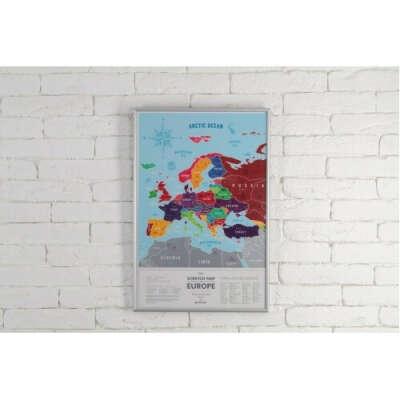 Скрет-карты Европы