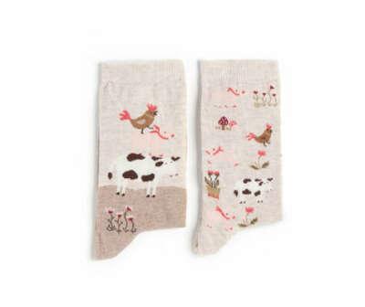 Носки с курочками
