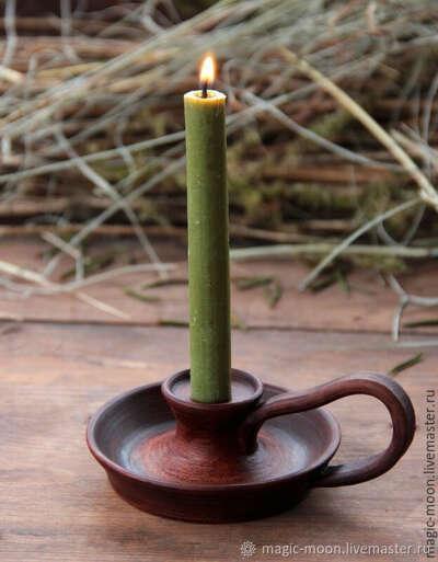 Подсвечник для толстых свечей