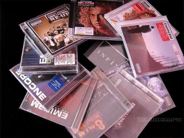 Все альбомы Eminem