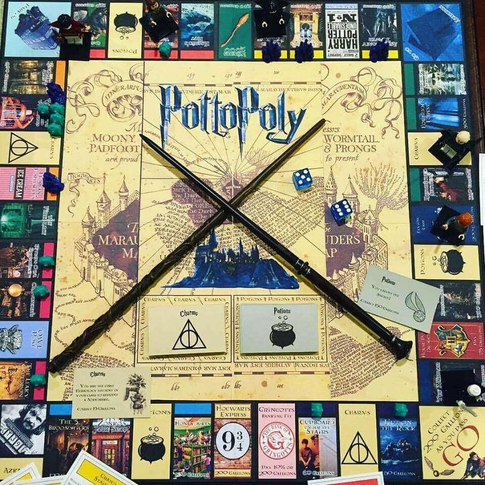 Настольная игра «Гарри Поттер»