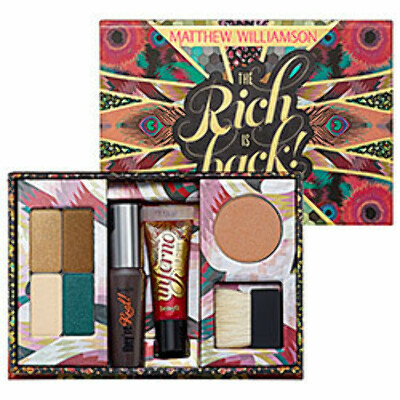 Sephora: Benefit Cosmetics : Matthew Williamson - The Rich Is Back! : makeup-palettes