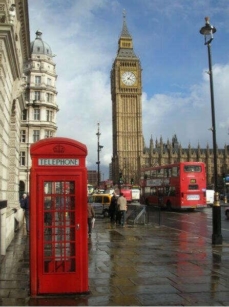 посетить Великобританию