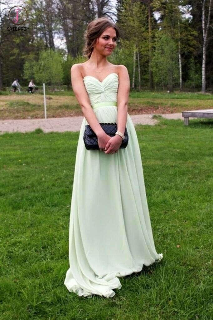 New Arrival Sweetheart Simple Bridesmaid Dresses KPB0031