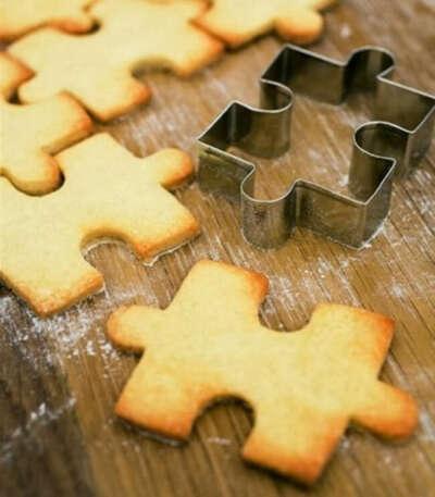 Формочка-пазл для печенья