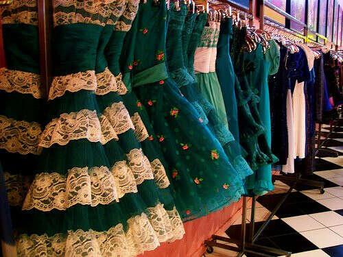 Много новых платьев))