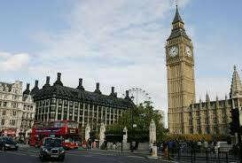 поехать в Лондон