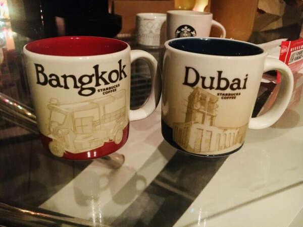 Старбакс чашки, коллекция с городами)