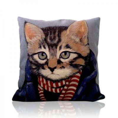 """Наволочка для подушки """"Кот"""""""