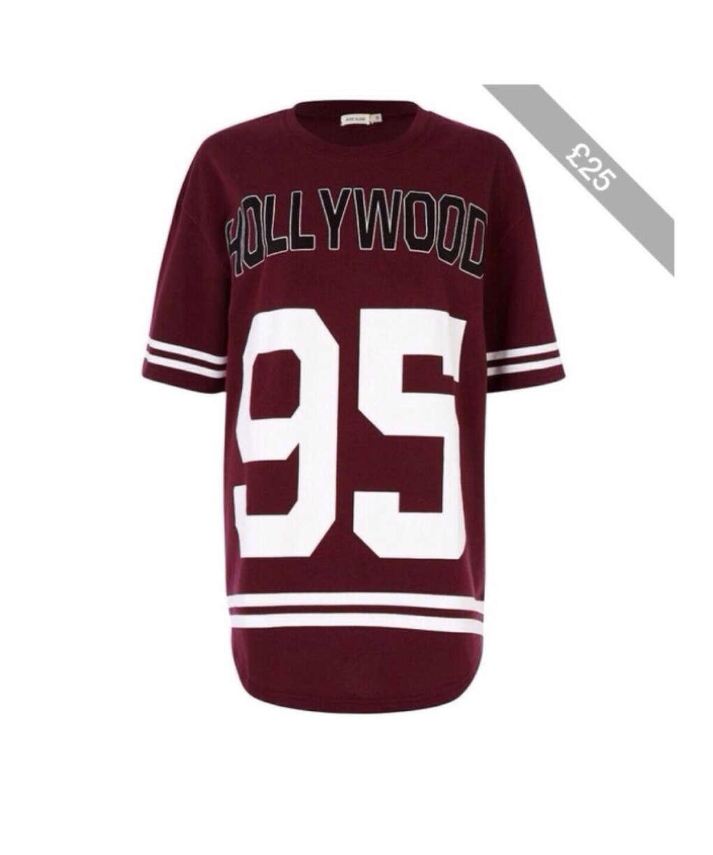 "Футболка ""Hollywood"" River Island"