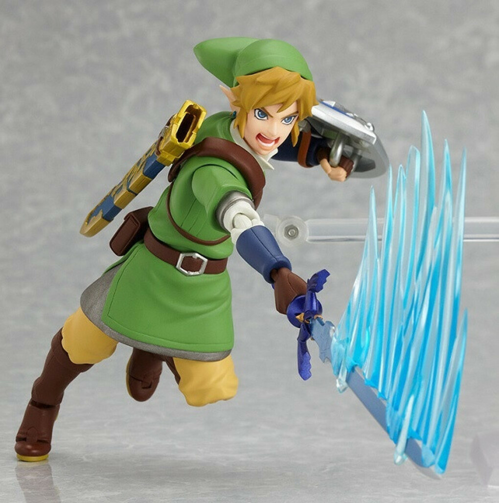 Hot ! NEW 14cm Legend of Zelda Link mobile collection action figure toy Christmas gift doll with Original box купить на AliExpress