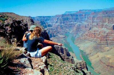 В Гранд каньон