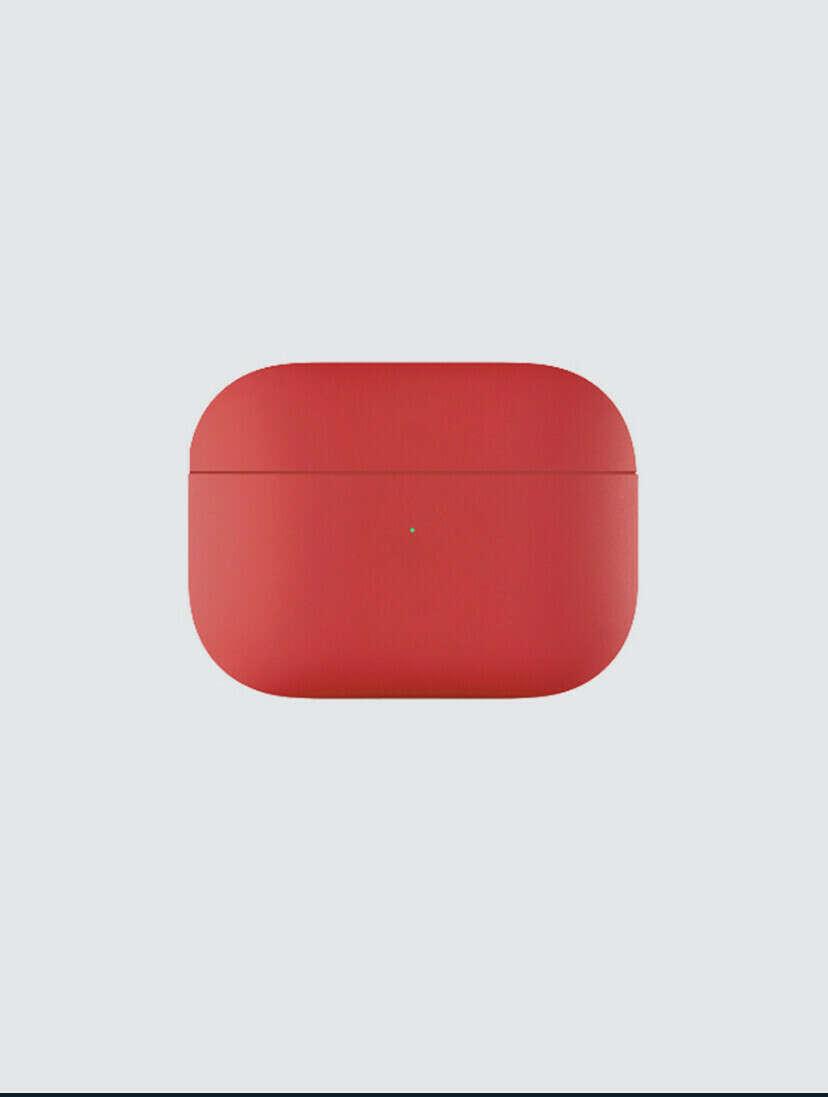 Защитный чехол для AirPods Pro, красный