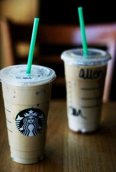 в Starbucks