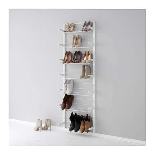 АЛЬГОТ Настенная шина /модуль д/обуви - IKEA