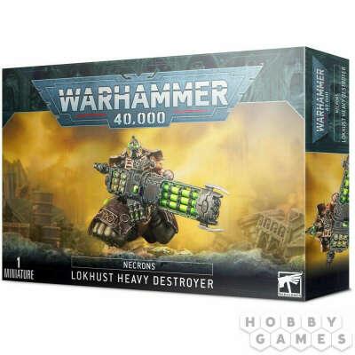 Necrons: Lokhust Heavy Destroyer | Купить настольную игру в магазинах Hobby Games