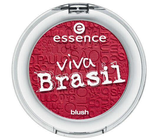 Essence Viva Brazil - Blush( №2 Destination Sao Paolo)