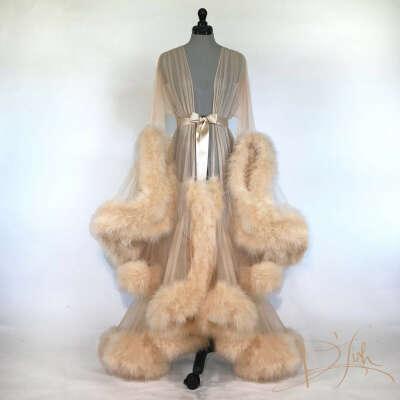 "Golden Camel Deluxe ""Cassandra"" Dressing Gown"