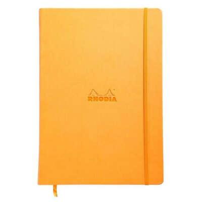 """Блокнот """"Webnotebook"""" А4, 96 листов, в точку, оранжевый бренда Rhodia"""
