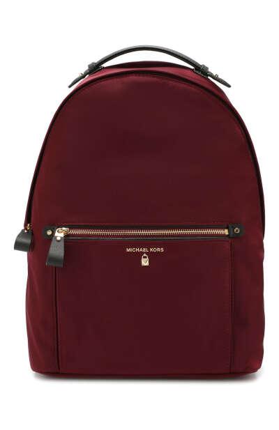 Женский бордовый рюкзак kelsey MICHAEL MICHAEL KORS — купить за 15200 руб. в интернет-магазине ЦУМ, арт. 30F7G02B7C