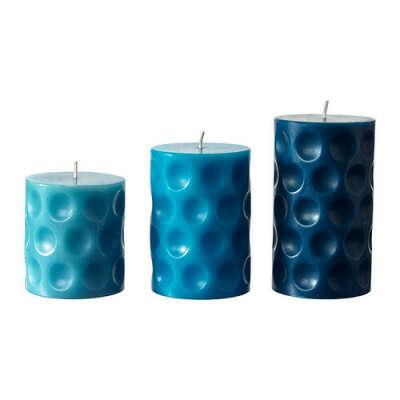 БЕФИНТЛИГ Формовая свеча, ароматическая, 3 шт - IKEA