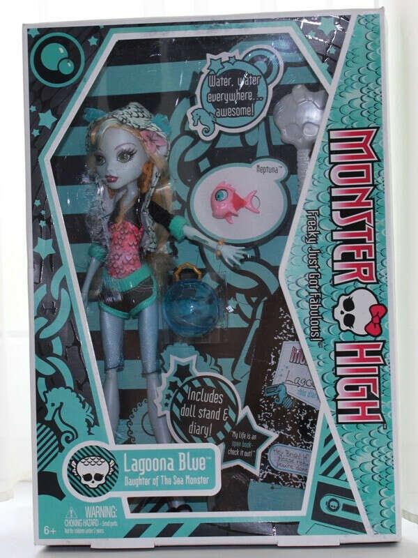 Хочу куклу монстр хай Лагуна Блю