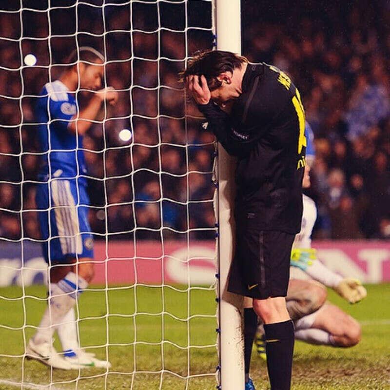 Чтобы Месси никогда не забил гол Челси