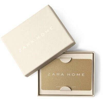 Подарочная карта Zara и Zara Home