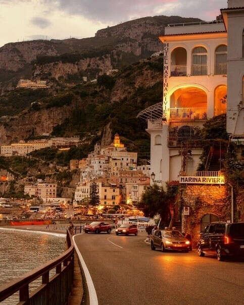 Побывать в Амальфи, Италия