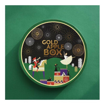 GoldAppleBox