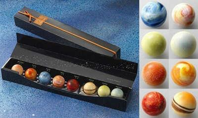 Planetary Chocolate - набор шоколадных конфет в виде планет Солнечной системы