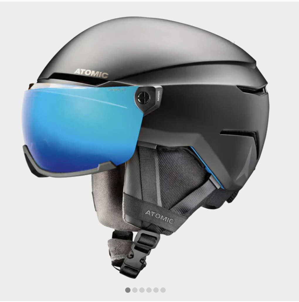 горнолыжный шлем c визором