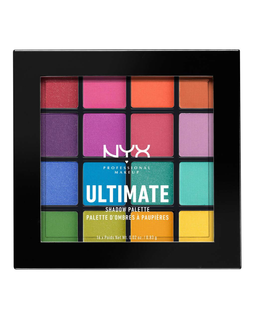 Палитра теней для век NYX Professional Makeup - Ultimate (Brights)