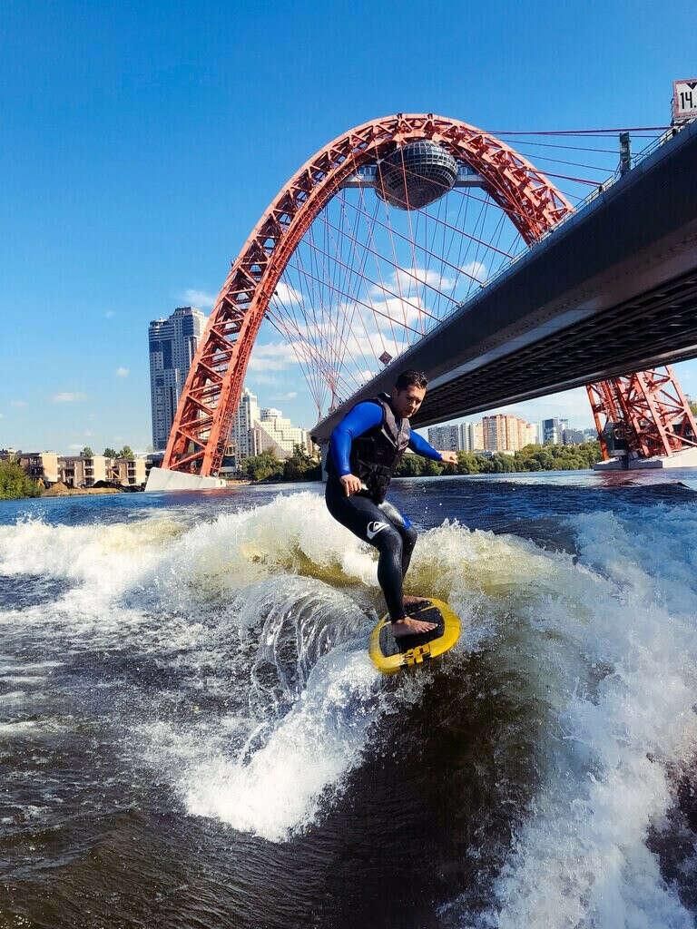 Сертификат на wake board/surf