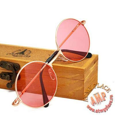 Солнцезащитные очки Pretty and Colorful розовые