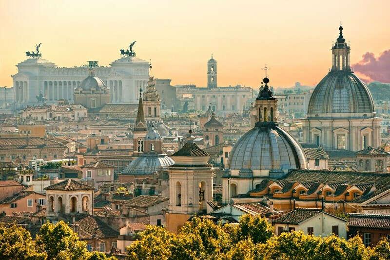 Снова посетить Рим