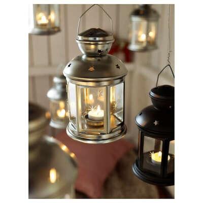 Купить РОТЕРА Фонарь для греющей свечи, для дома и улицы оцинковка по выгодной цене в интернет-магазине - IKEA
