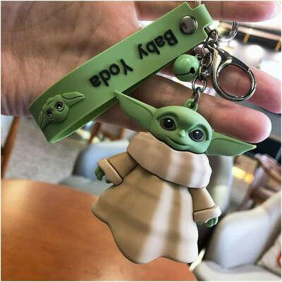 721.47руб.  Фигурка героя из мультфильма «Звездные войны» Disney Baby Yoda аниме брелок для ключей Игровые фигурки и трансформеры    АлиЭкспресс