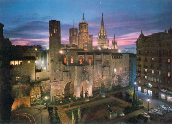 Готический квартал Барселона