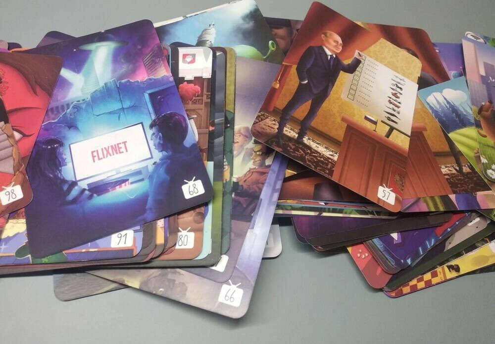 Дополнительные карточки Имаджинариум