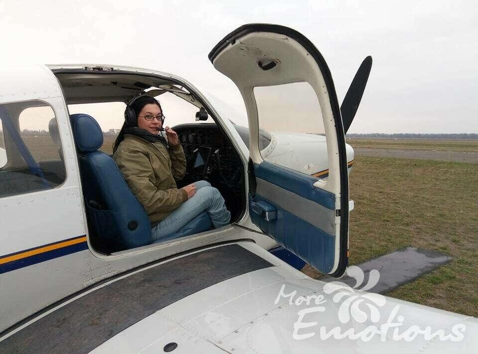 Полетать на самолете - Полет на самолете - Подарочный сертификат - Днепр - 1700 грн - More Emotions