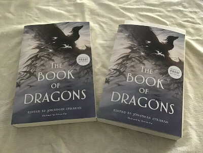 """Jonathan Strahan """"The book of Dragons: An Anthology"""""""