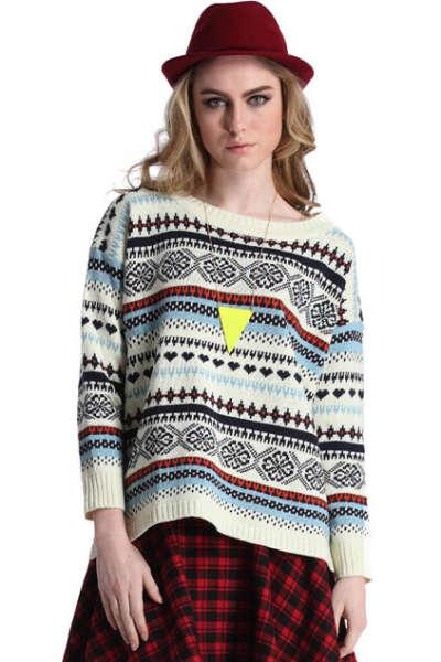 Отличный свитер для холодного февраля)