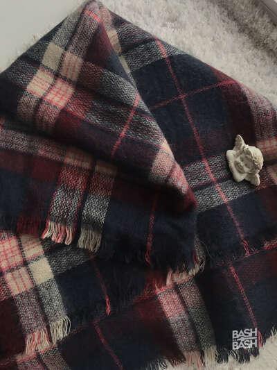 Большой и тёплый шарф